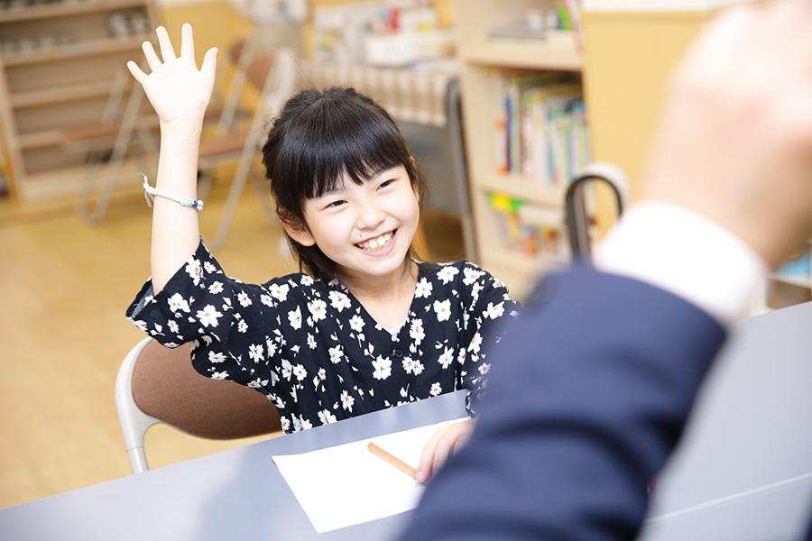 児童クラスの子ども成長の一例